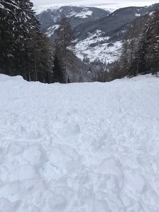Valanga Val dei Mocheni 1